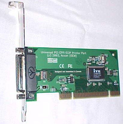 PCI-3 I/0 Card